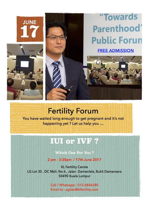 Fertility Forum : IUI or IVF ?