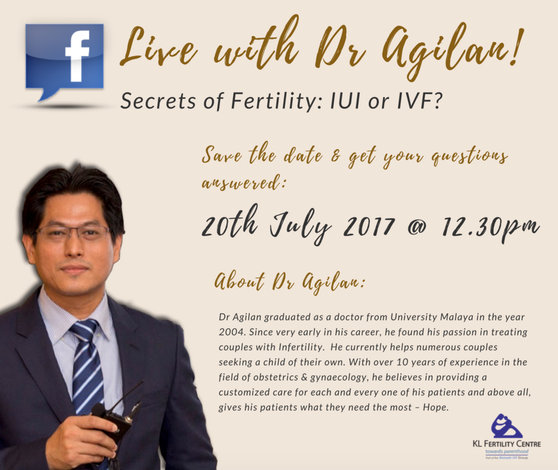 Facebook Live Interview: Dr Agilan