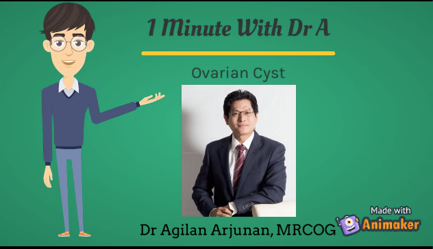 1 Minute With Dr A : Ovarian Cyst