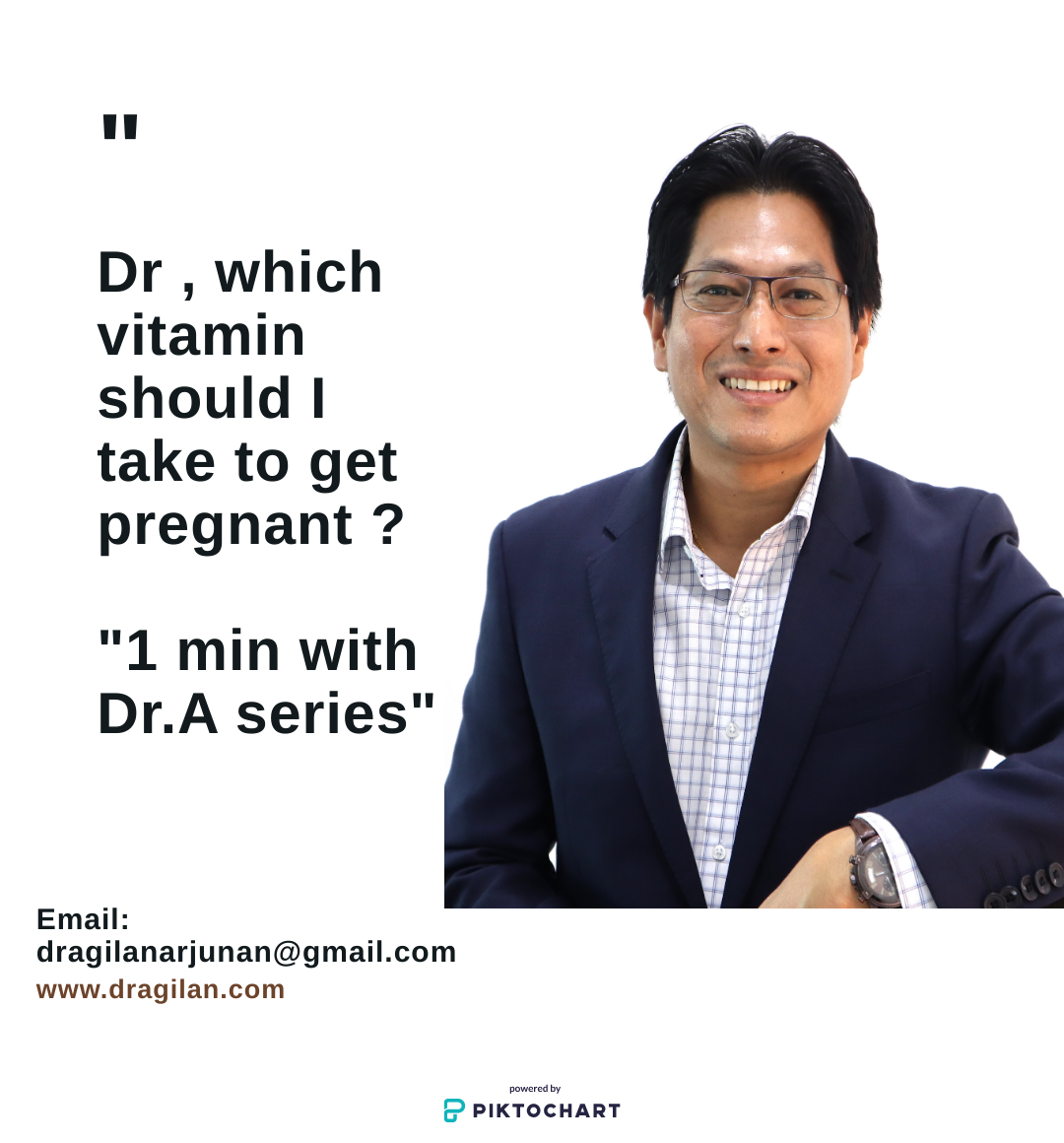 Vitamin & Fertility : 1 Min with Dr.A series